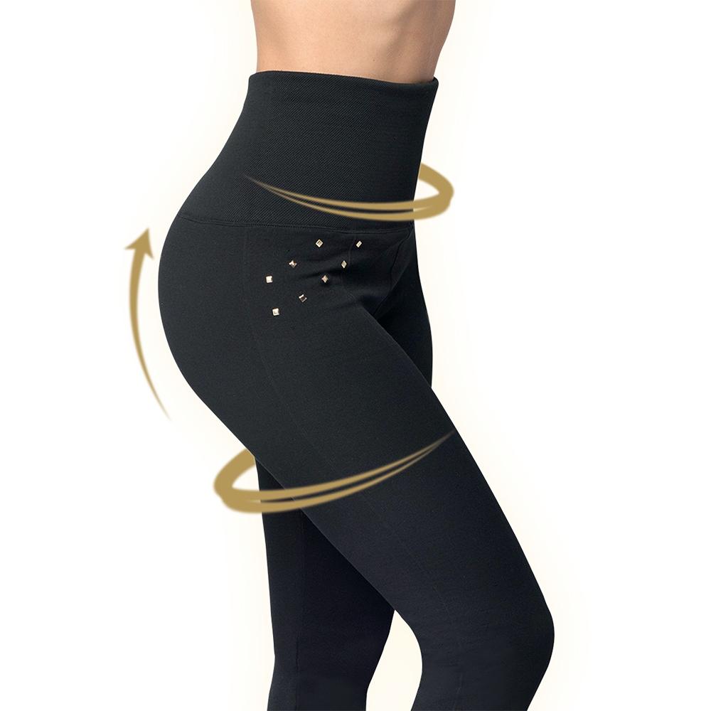 Hollywood Pants 3 Stk schwarz Bodyformer 3 Designs Shapewear Leggins Mediashop