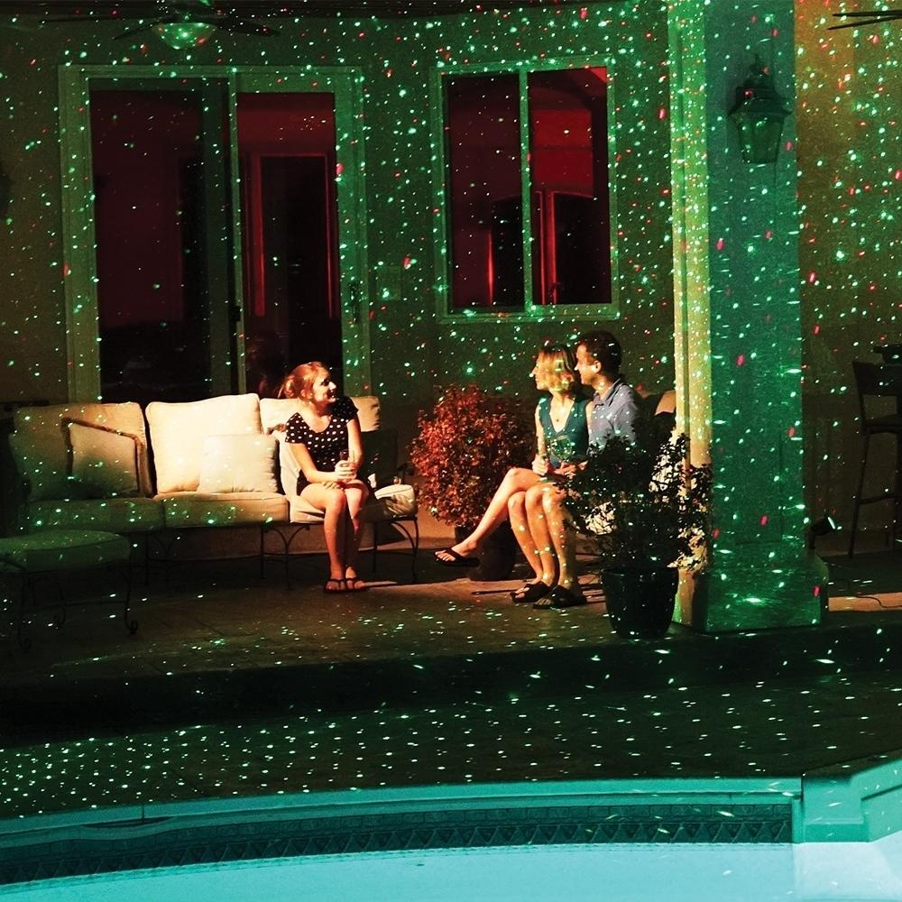 Star shower laserlicht b ware lichtsystem innen und au en - Star shower ebay ...