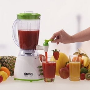 fitmix mixer 600 w rot smoothie maker standmixer mediashop neu ebay. Black Bedroom Furniture Sets. Home Design Ideas
