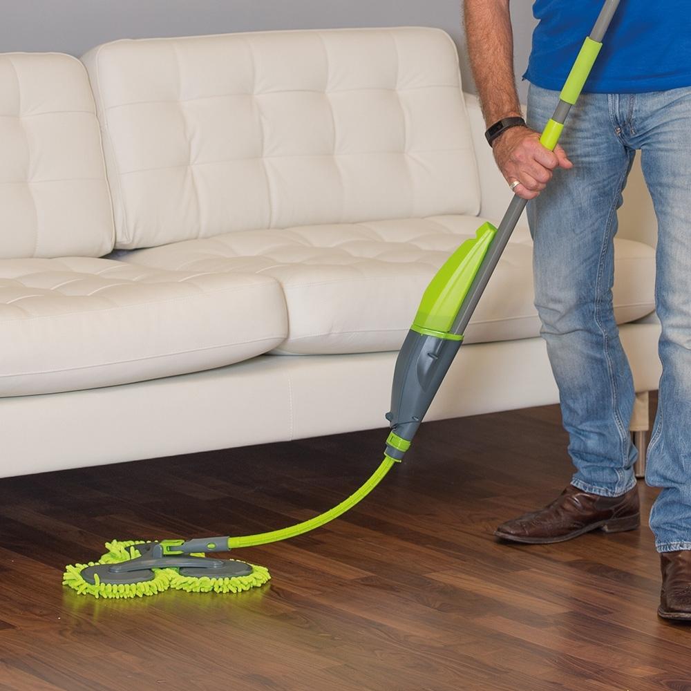 livington 3 magic mop 360 bodenwischer mit ausfahrbarem schwenkarm mediashop ebay. Black Bedroom Furniture Sets. Home Design Ideas