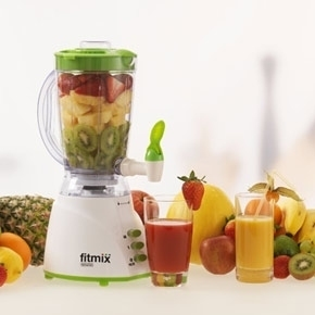 fitmix mixer 600 w rot b ware smoothie maker standmixer fitness mediashop ebay. Black Bedroom Furniture Sets. Home Design Ideas