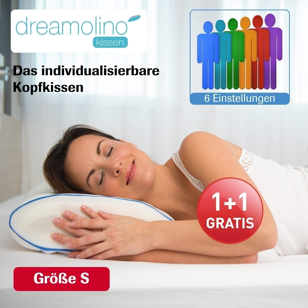 dreamolino 50 x 30 cm 2 stk kissen inkl 2 bez ge. Black Bedroom Furniture Sets. Home Design Ideas