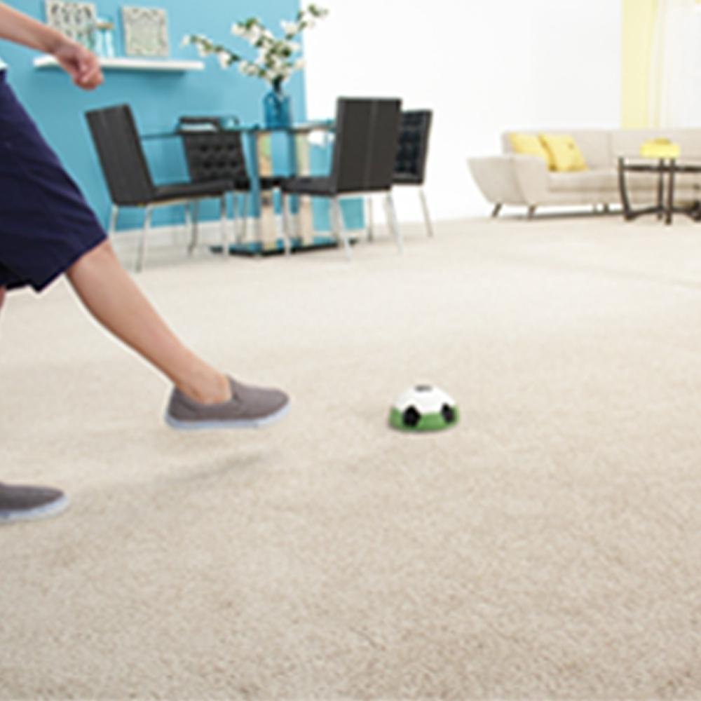 Fußball LED Lichteffekt halber Ball Gleitball Mediashop Fußball Hover Ball Indoor 2 Stk