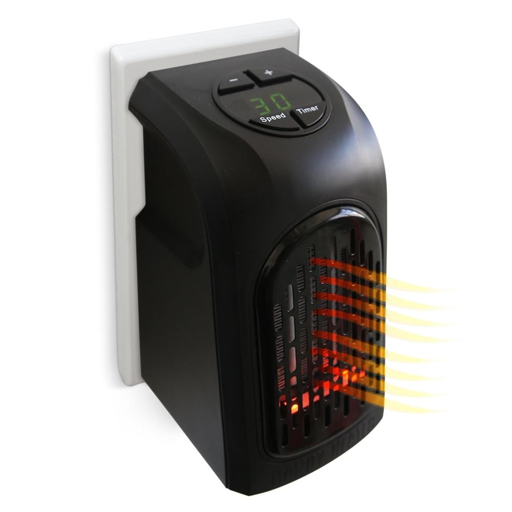 livington handy heater mit fernbedienung 500 watt heizen aus steckdose mediashop ebay. Black Bedroom Furniture Sets. Home Design Ideas
